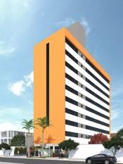 Construção do edifício Petit Soleil
